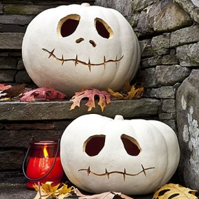 DIY Spooky Pumpkin