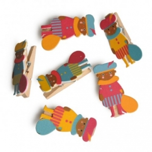 Zwarte Piet knijpers