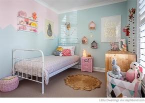 Binnenkijker – Kinderkamer volpastelkleuren